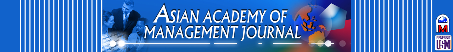 Asian Academy of Management Journal